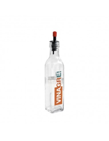 Vinagrera Vidrio Decorativa 250 ml