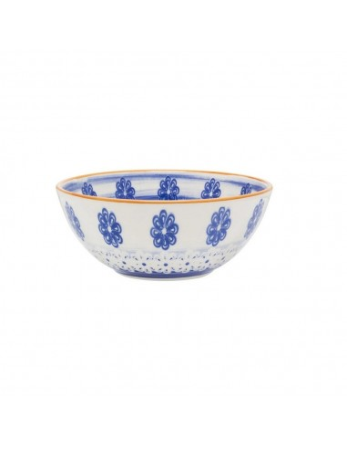 Bowl Cerealero Decorado Azul 600 ml