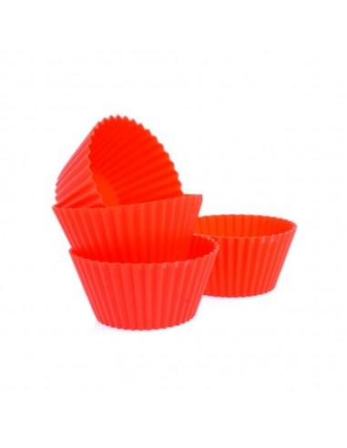 Molde Muffin Silicona Set x4
