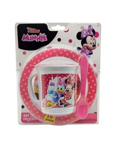 Set Infantil x 3 Piezas Minnie