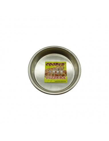 Molde Pizzeta Aluminio Cooper
