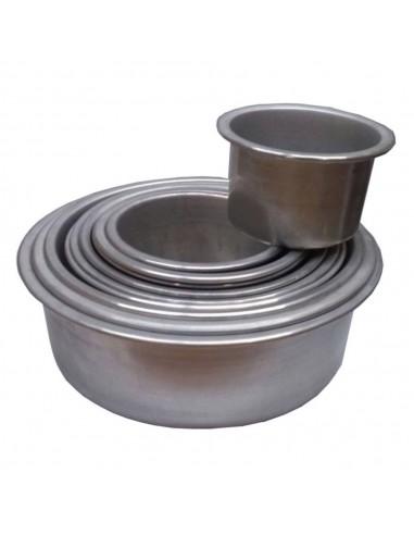 Tortera Aluminio Boda Fija 10 cm Alto