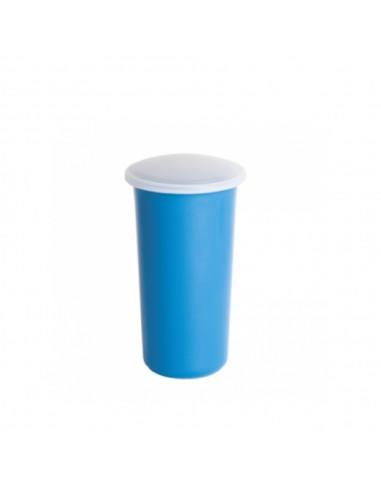Vaso Plástico c/ Tapa 400 ml