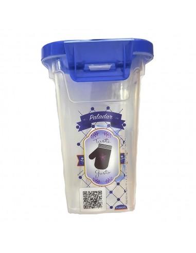 Pote Hermético Alto Tapa Bisagra 420 ml