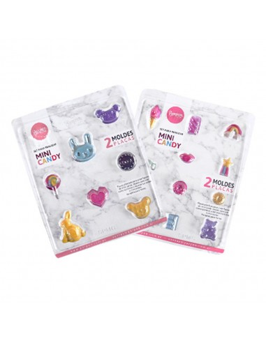 Set x2 Placas Mini Candy