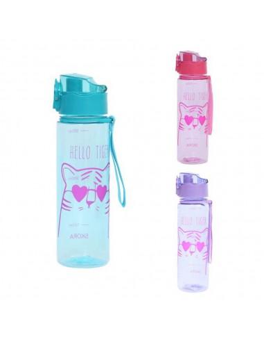 Botella Plástico Hello Tiger Tapa...