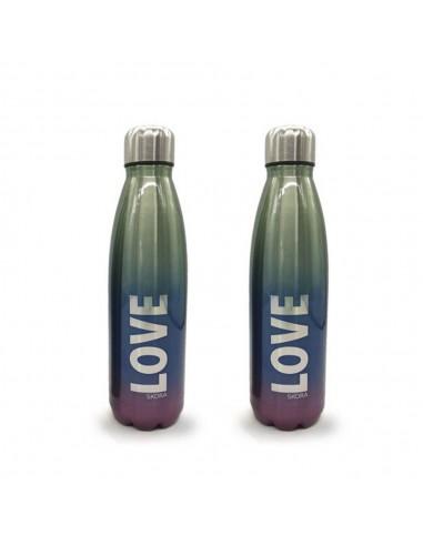 Botella Acero Degradee 500 ml