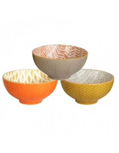 Bowl Porcelana Decorado Bicolor
