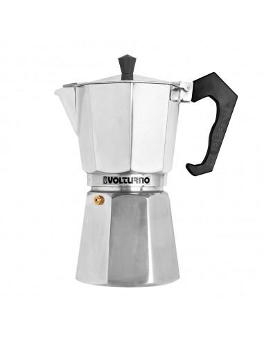 Cafetera Aluminio Clásica Volturno