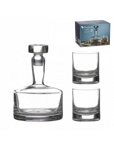 Set x3 Piezas Decantador Whisky + 2...