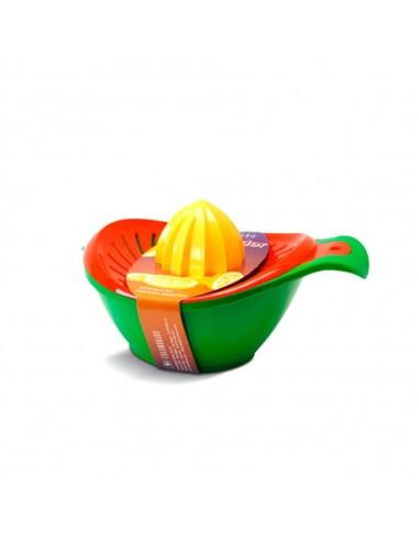Exprimidor Decco Multicolor Colombraro