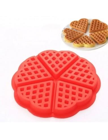 Molde Silicona Waffles