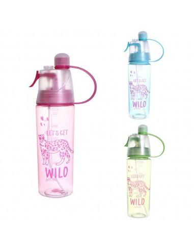 Botella Estampa Wild c/ Atomizador...