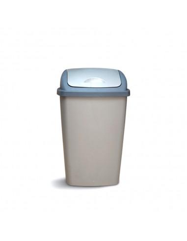 Cesto Residuos Tapa Rebatible 50 lts