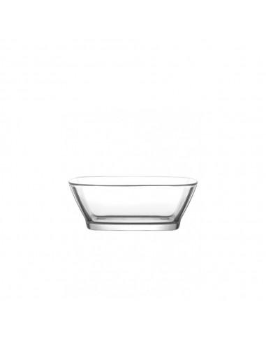 Bowl Vidrio Rectangular 375 ml