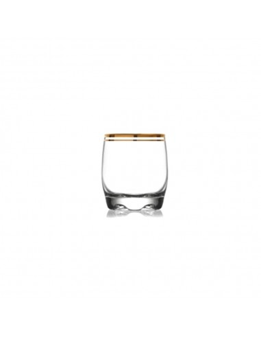 Vaso Whisky Atlantic Oro 290 ml