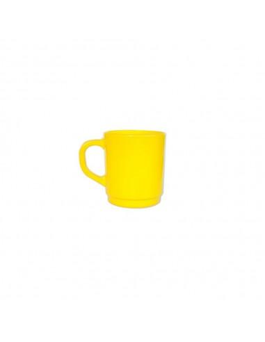 Jarro Mug Vidrio Color 265 ml