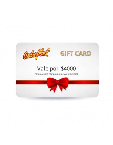Gift Card 4000