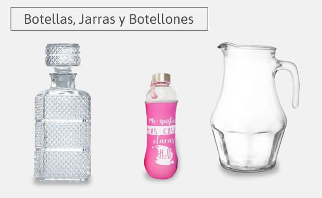 botellas jarras y botellones
