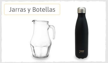 jarras y botellas